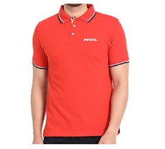 Swiss Military Polo T-shirt Red