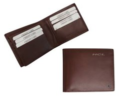 Boardroom Brown leather wallet